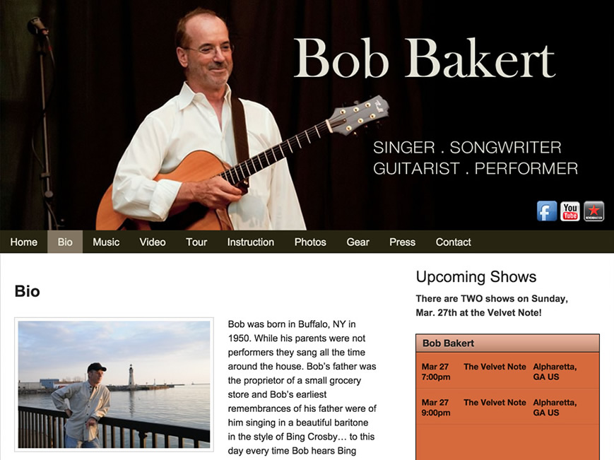 Bob Bakert website
