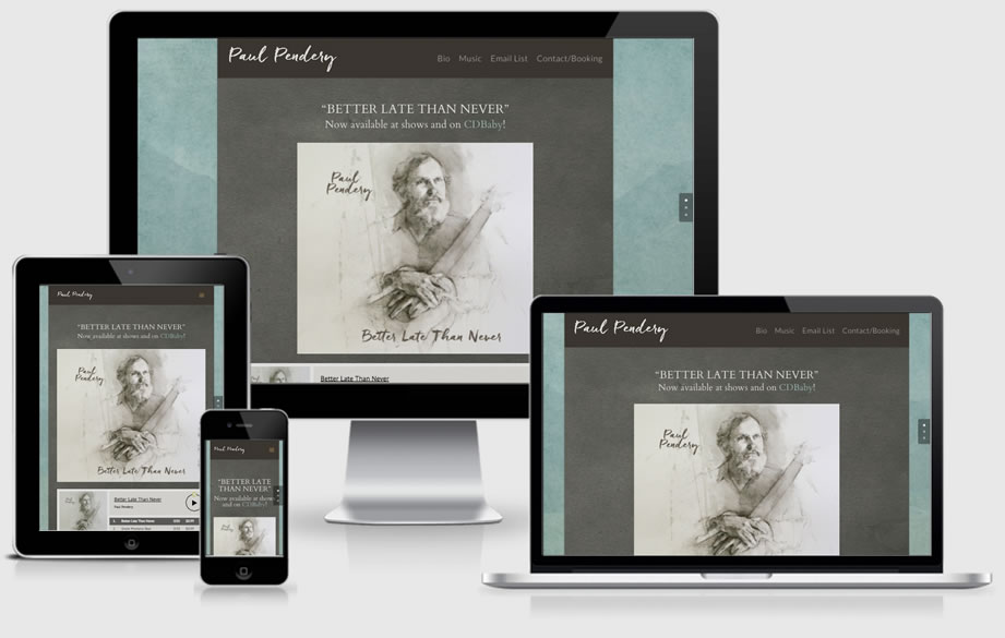 Paul Pendery website