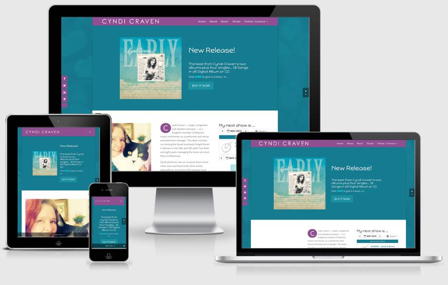Cyndi Craven Music website