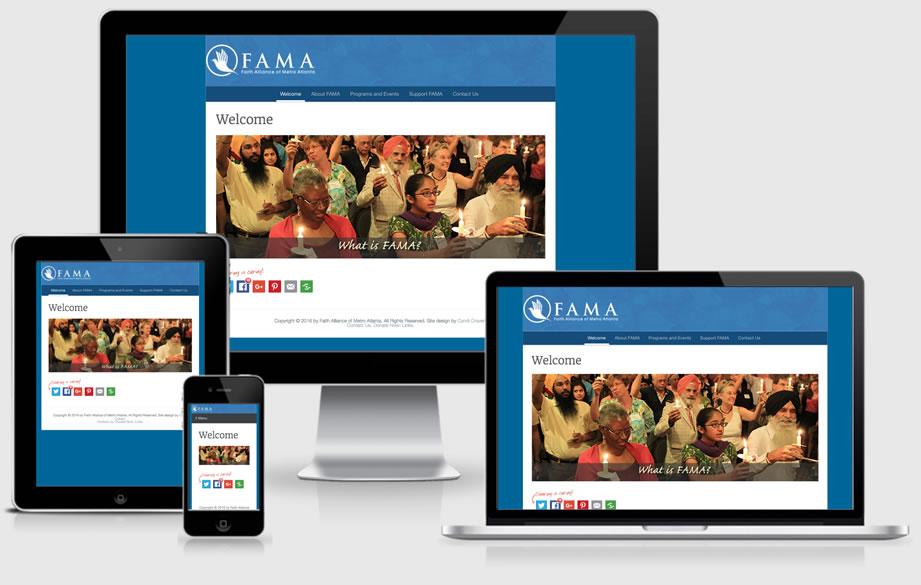 FAMA website