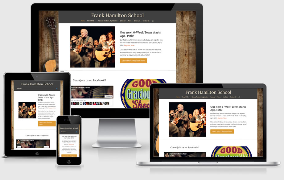 Frank Hamilton School website