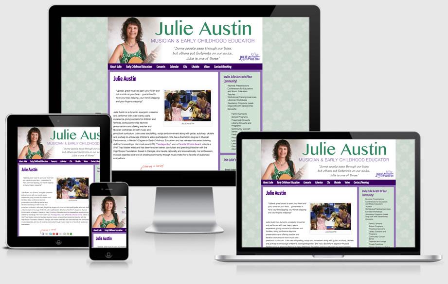 Julie Austin website